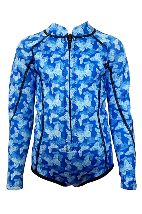 Butterfly Explosion l/s springsuit